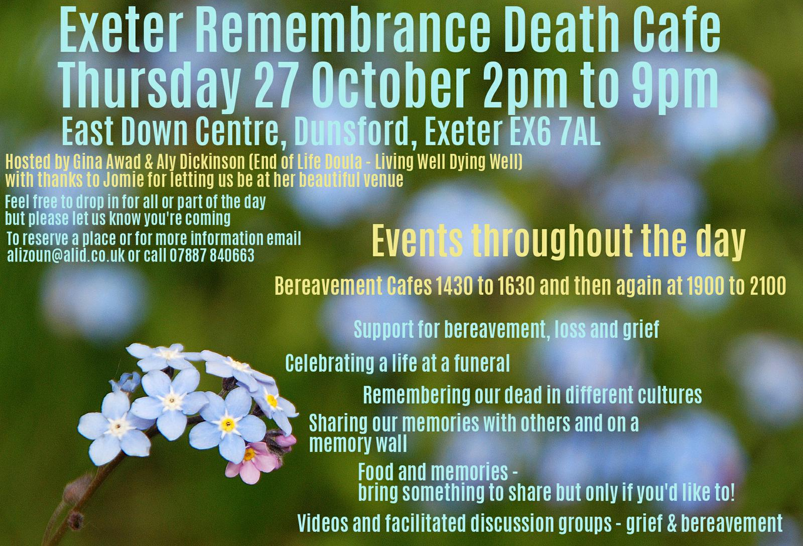 Exeter Death Cafe