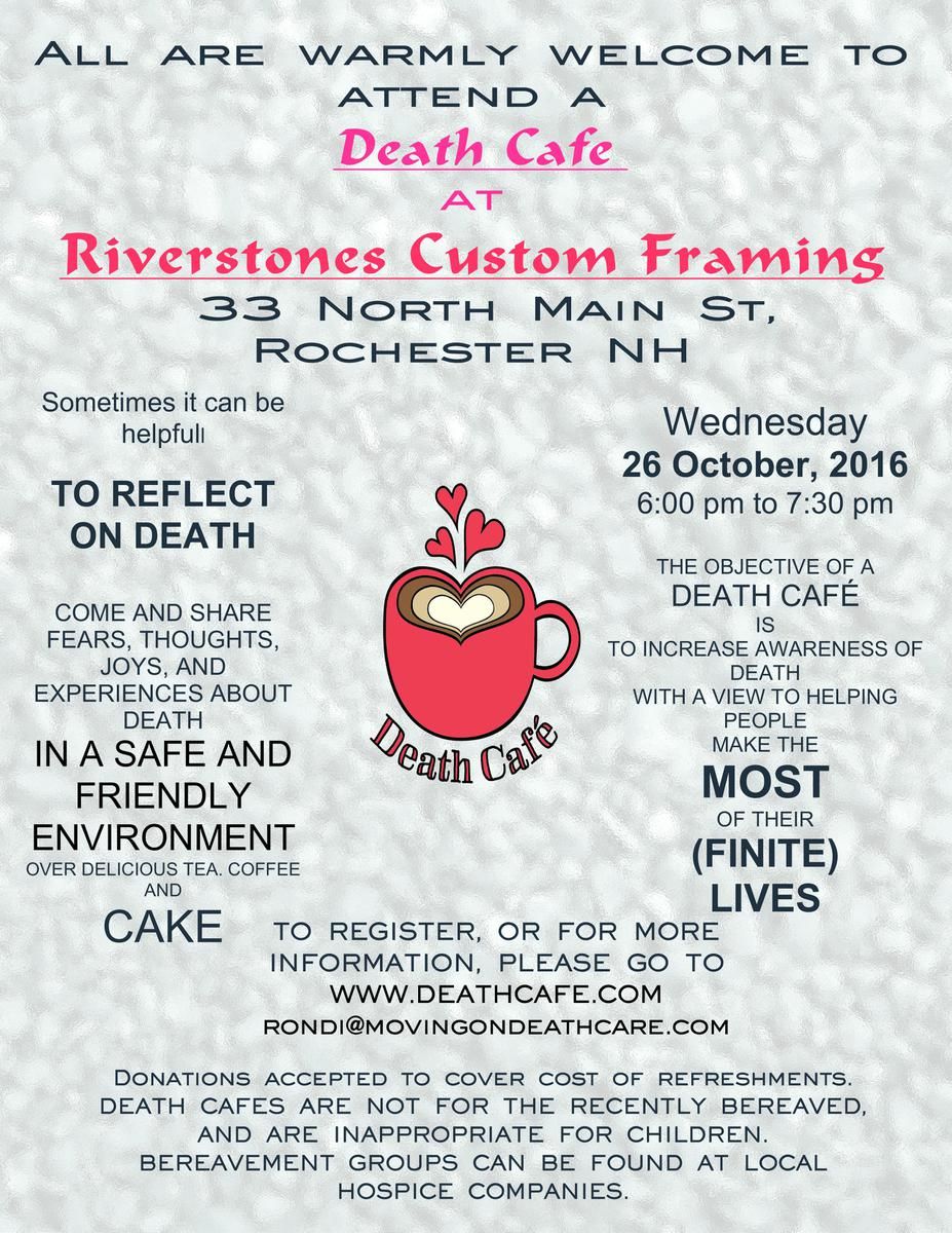 Rochester NH Death Cafe
