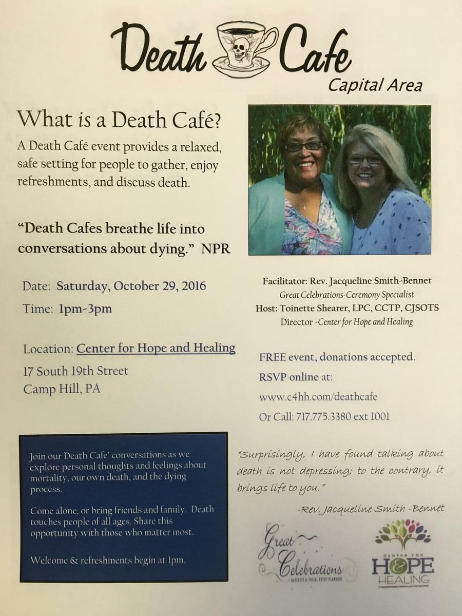 Death Cafe - Capital Area, PA