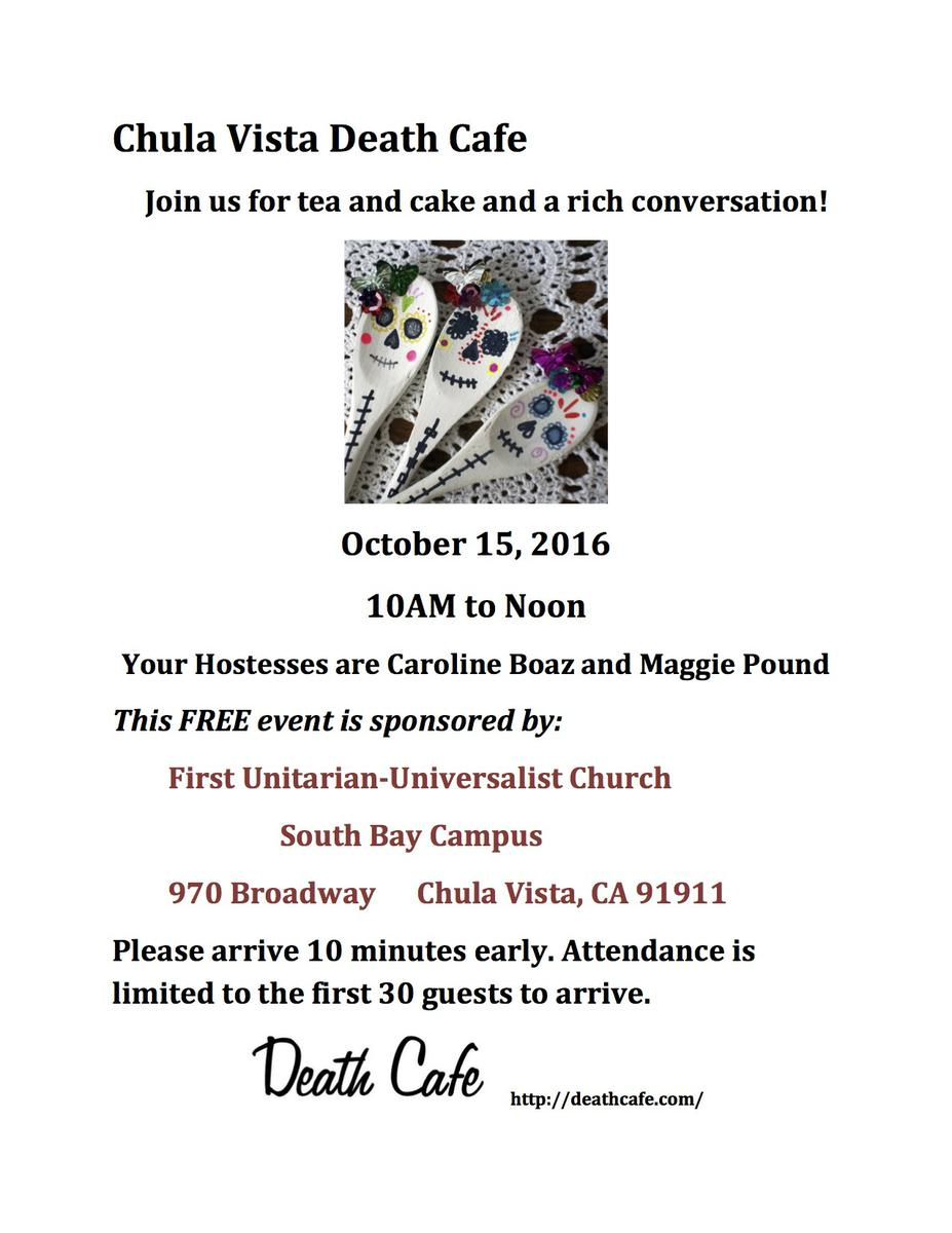 Chula Vista Death Cafe