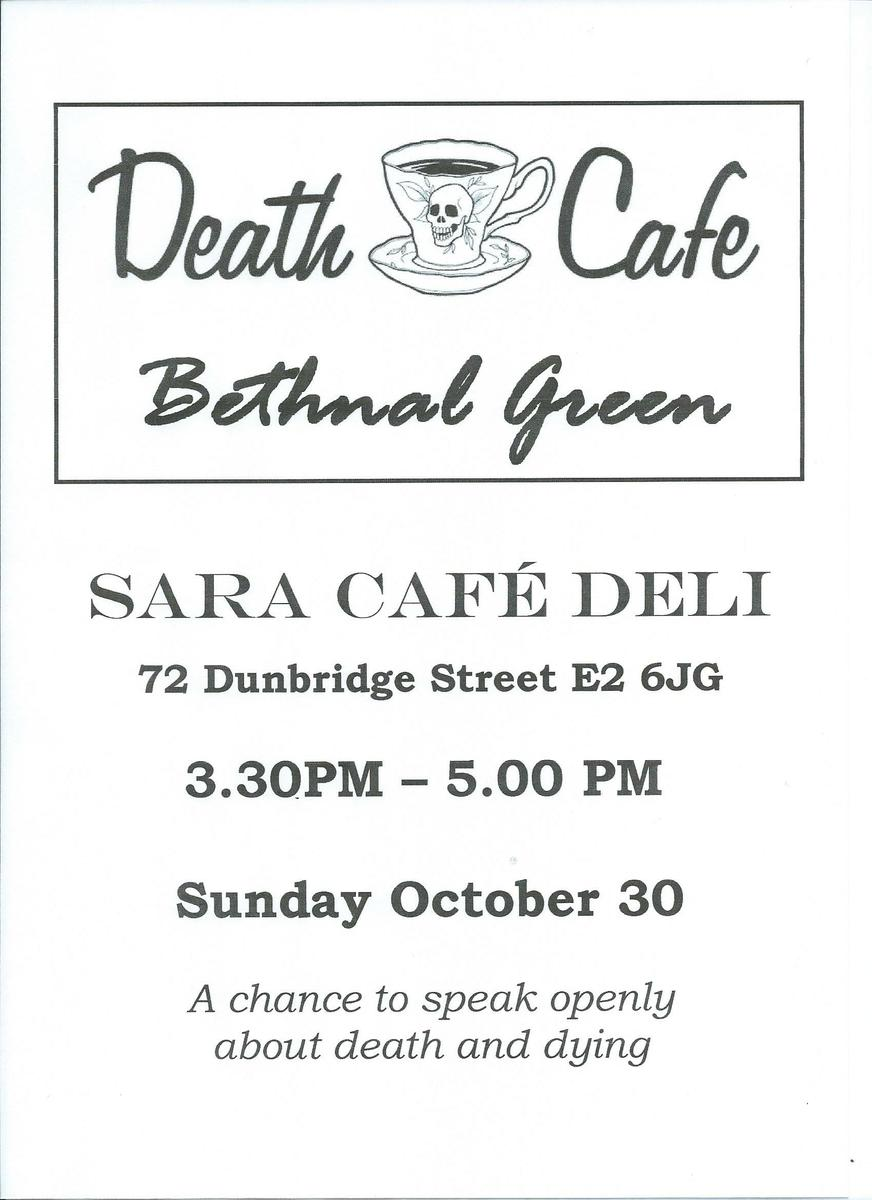 Death Cafe Bethnal Green