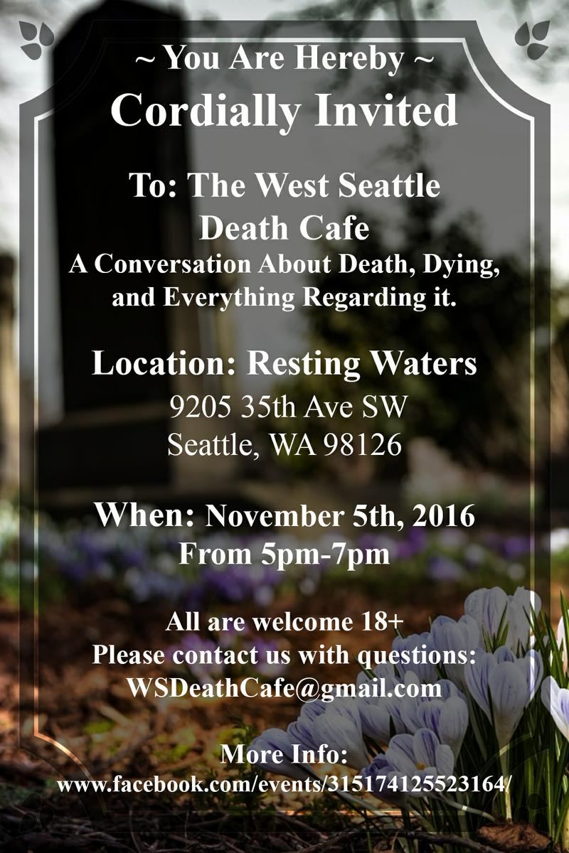West Seattle Death Cafe