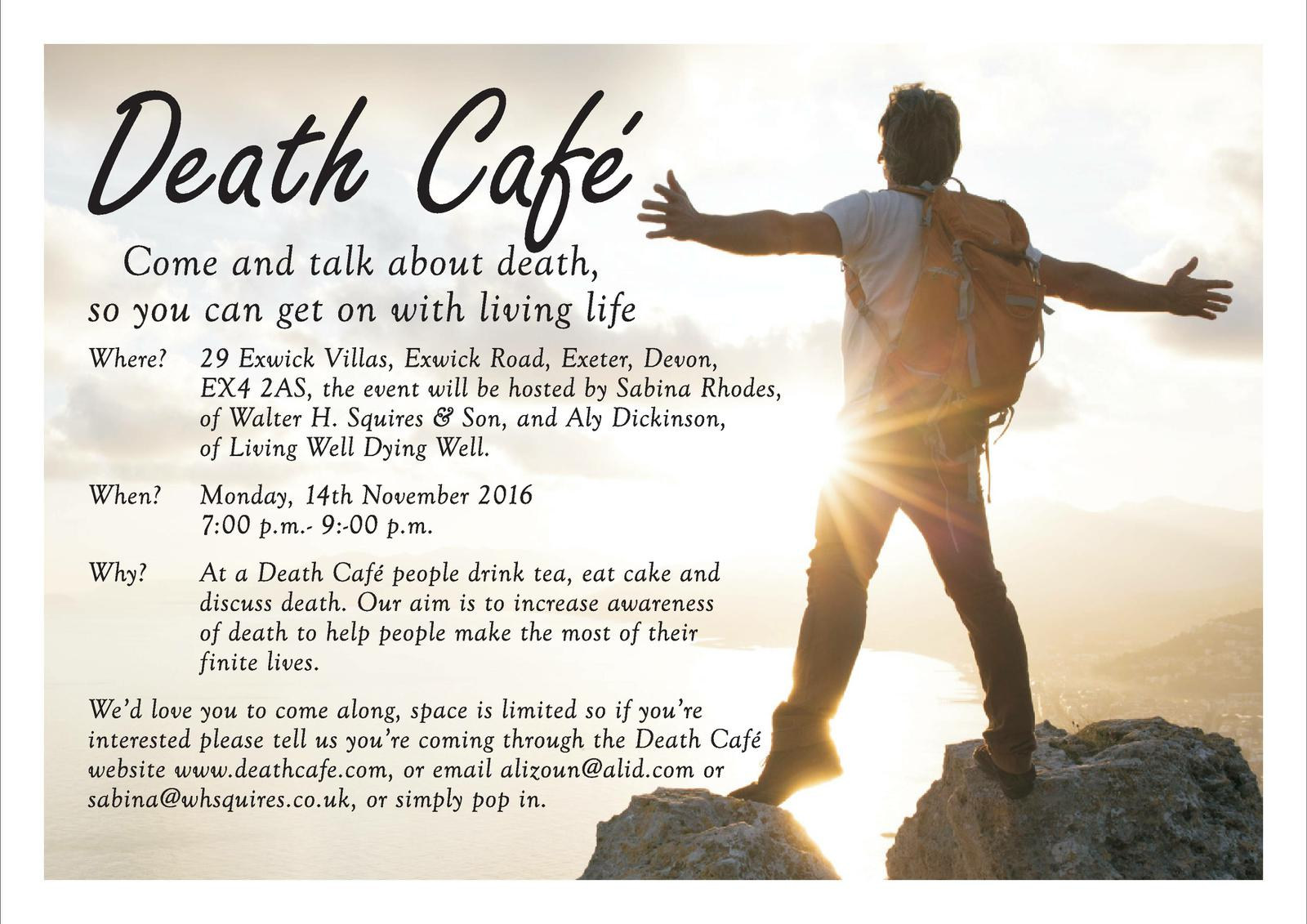 Exwick Death Cafe - Exeter