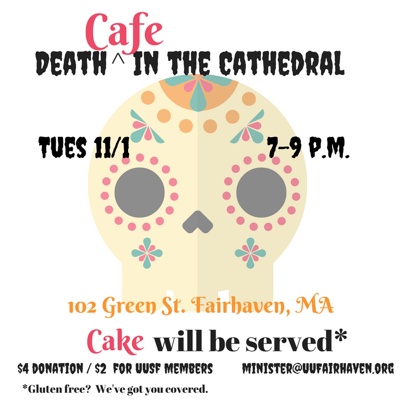 Death Cafe In Fairhaven, MA