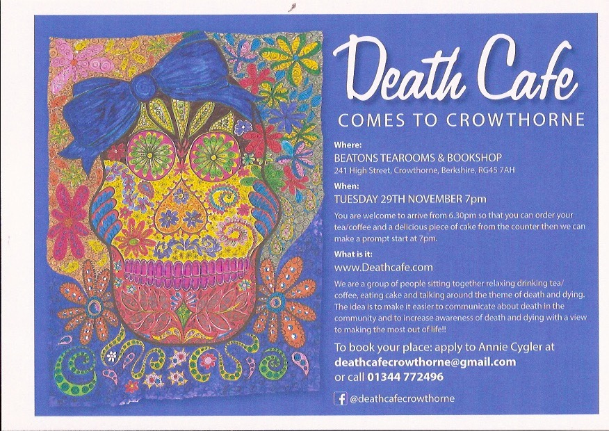 Death Cafe Crowthornee