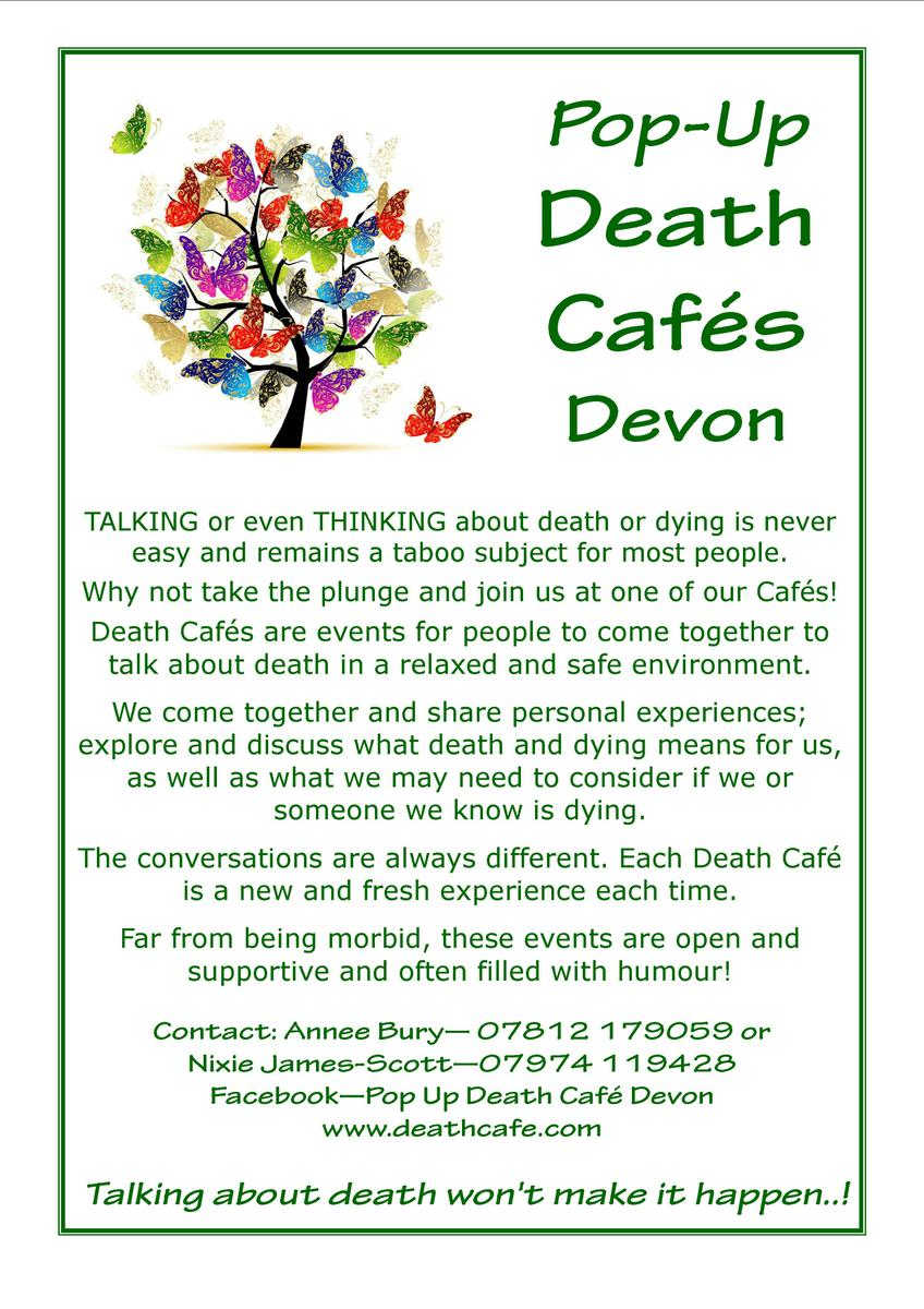 Death Cafe in Devon