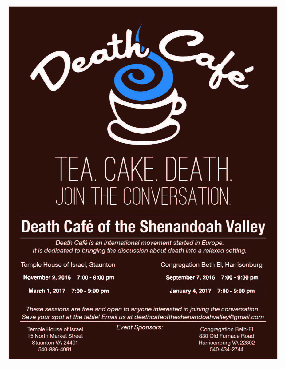 Death Cafe of the Shenandoah Valley