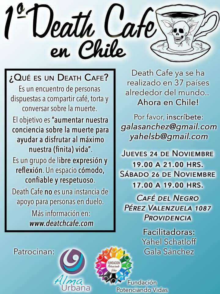 Death Cafe in Santiago, Chile