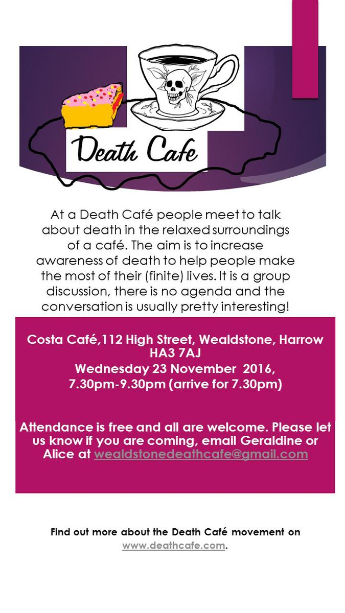 Wealdstone Death Cafe