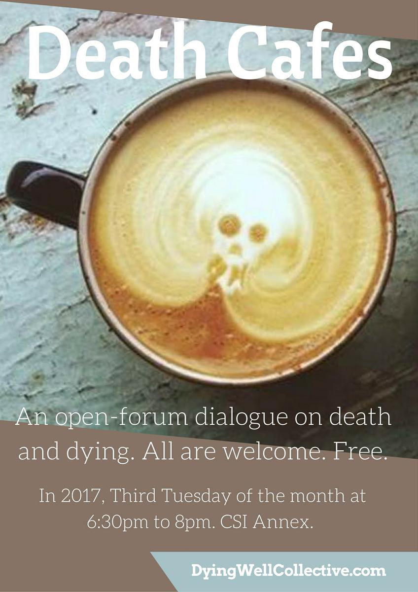 Monthly Death Cafe in Toronto