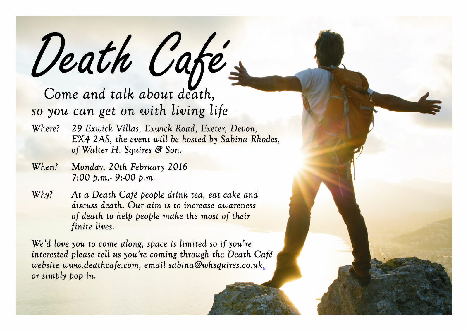 Exeter Death Cafe (Exwick)