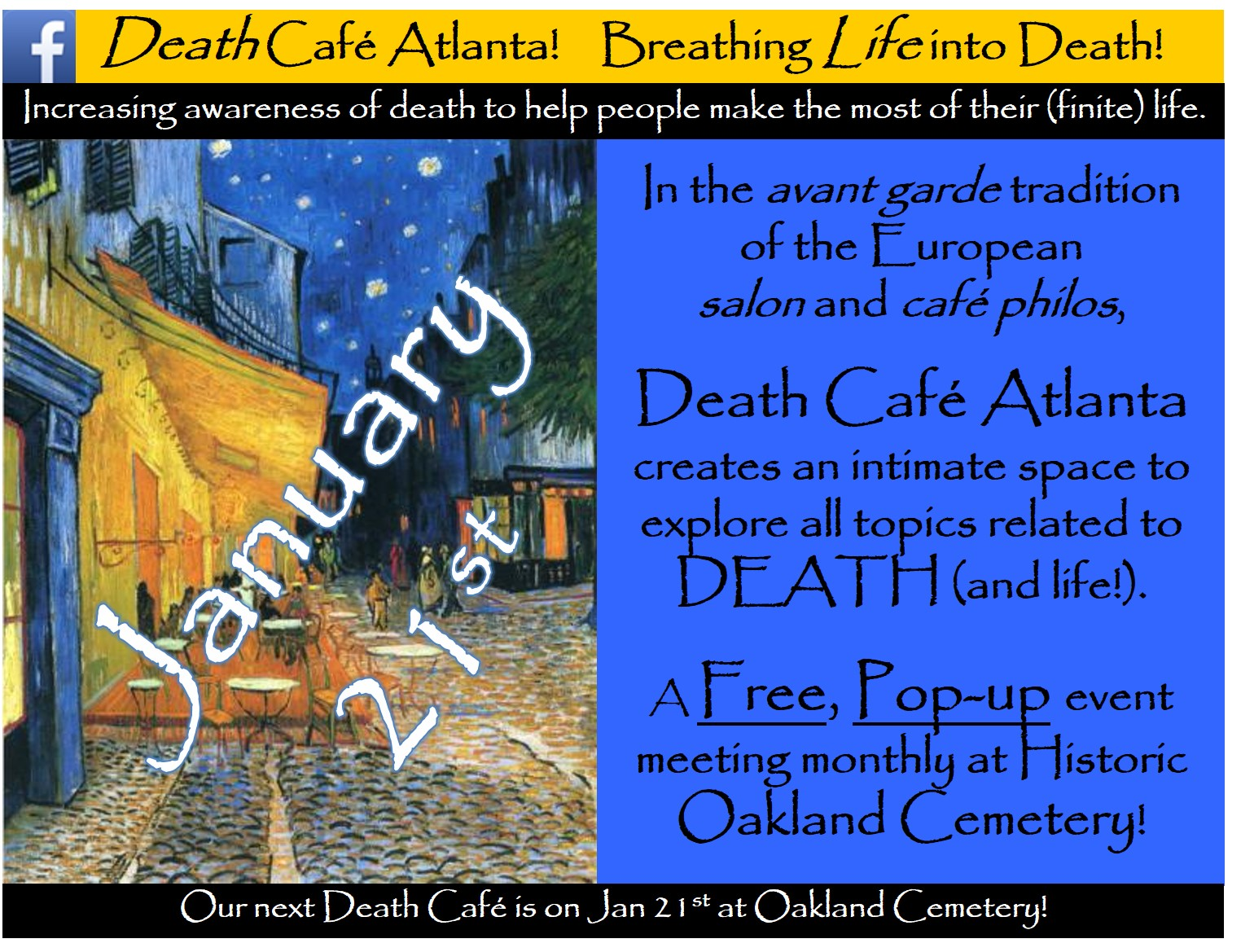 Death Cafe Atlanta #36