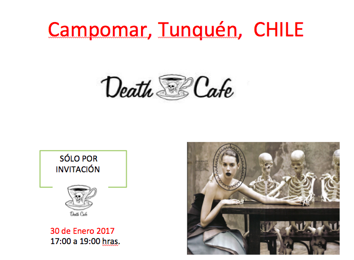 Death Cafe in Tunquen, Chile