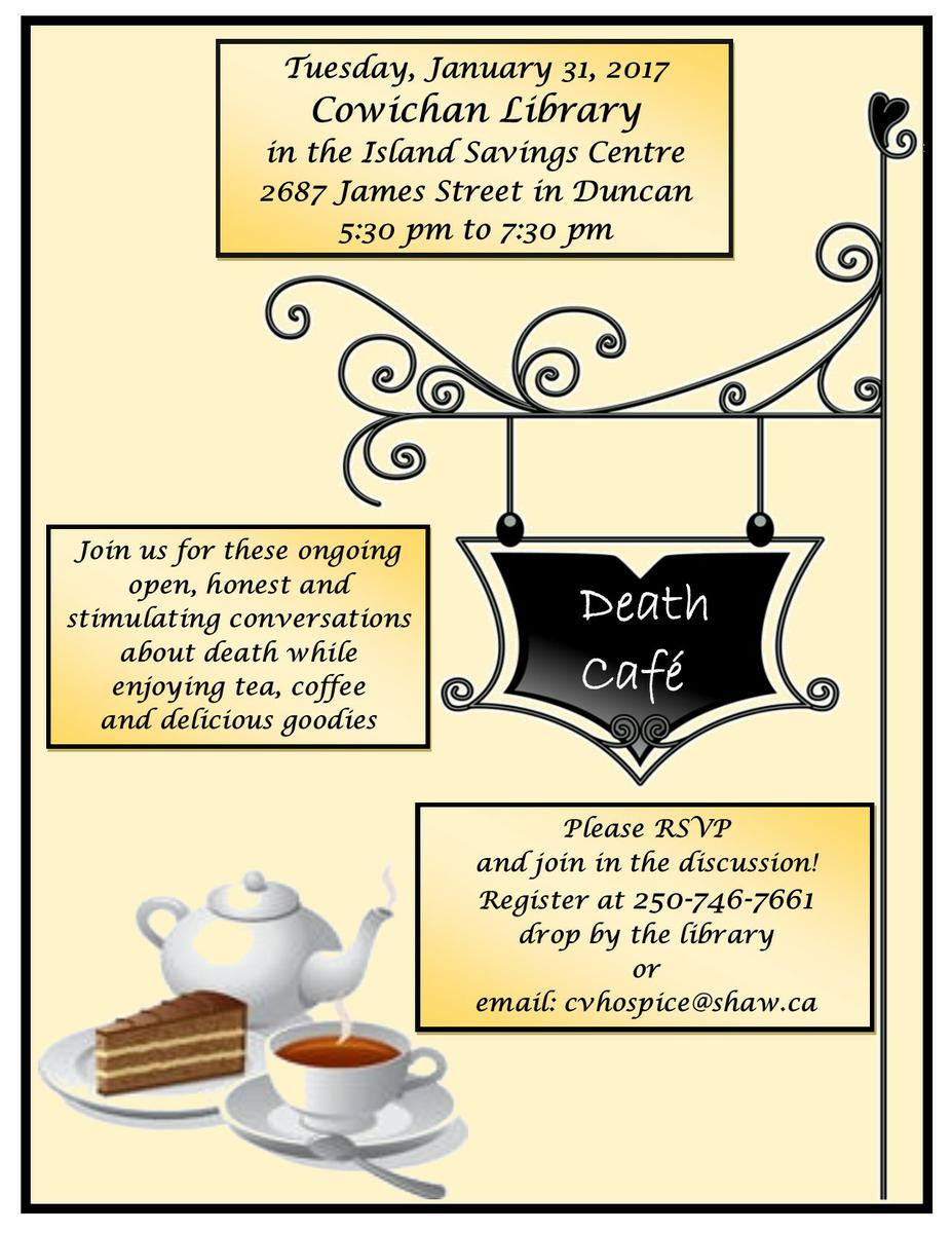 Cowichan Valley Death Cafe-Duncan BC