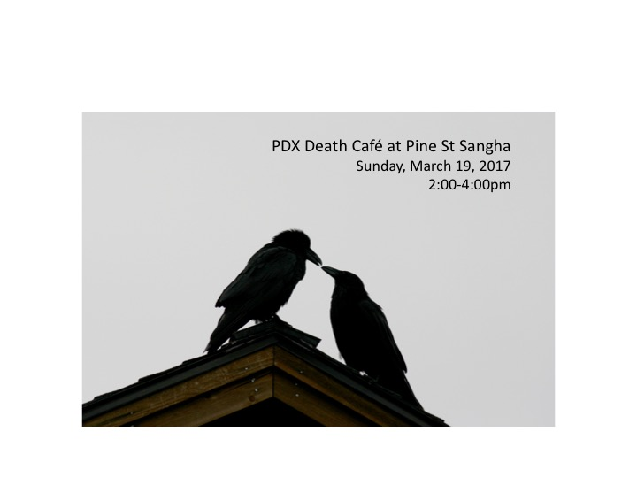 Death Cafe in Portland, OR