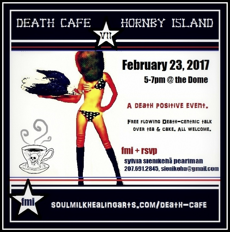 Hornby Island, BC Death Cafe VII