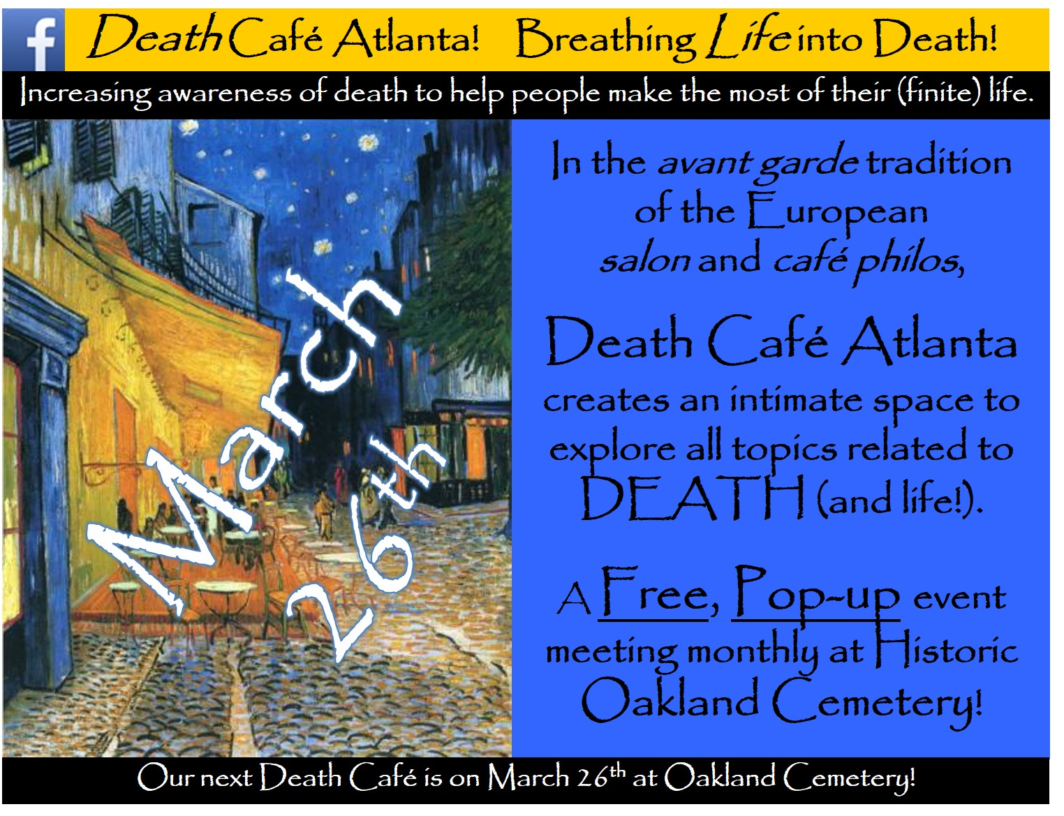Death Cafe Atlanta #38