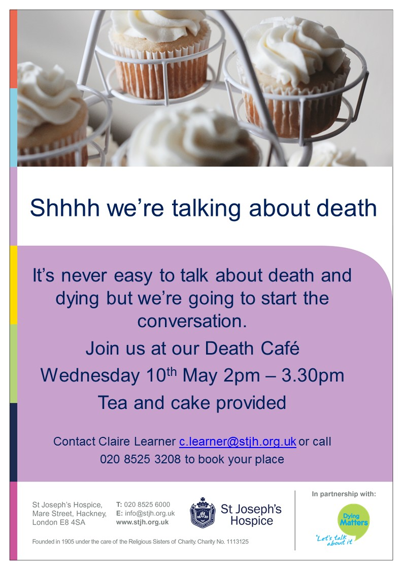 Death Cafe in Hackney