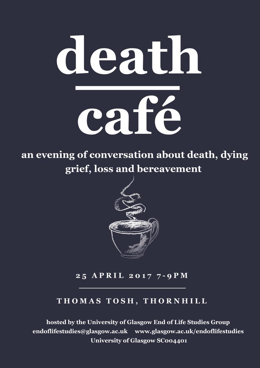 Death Cafe in Thornhill, Dumfriesshire