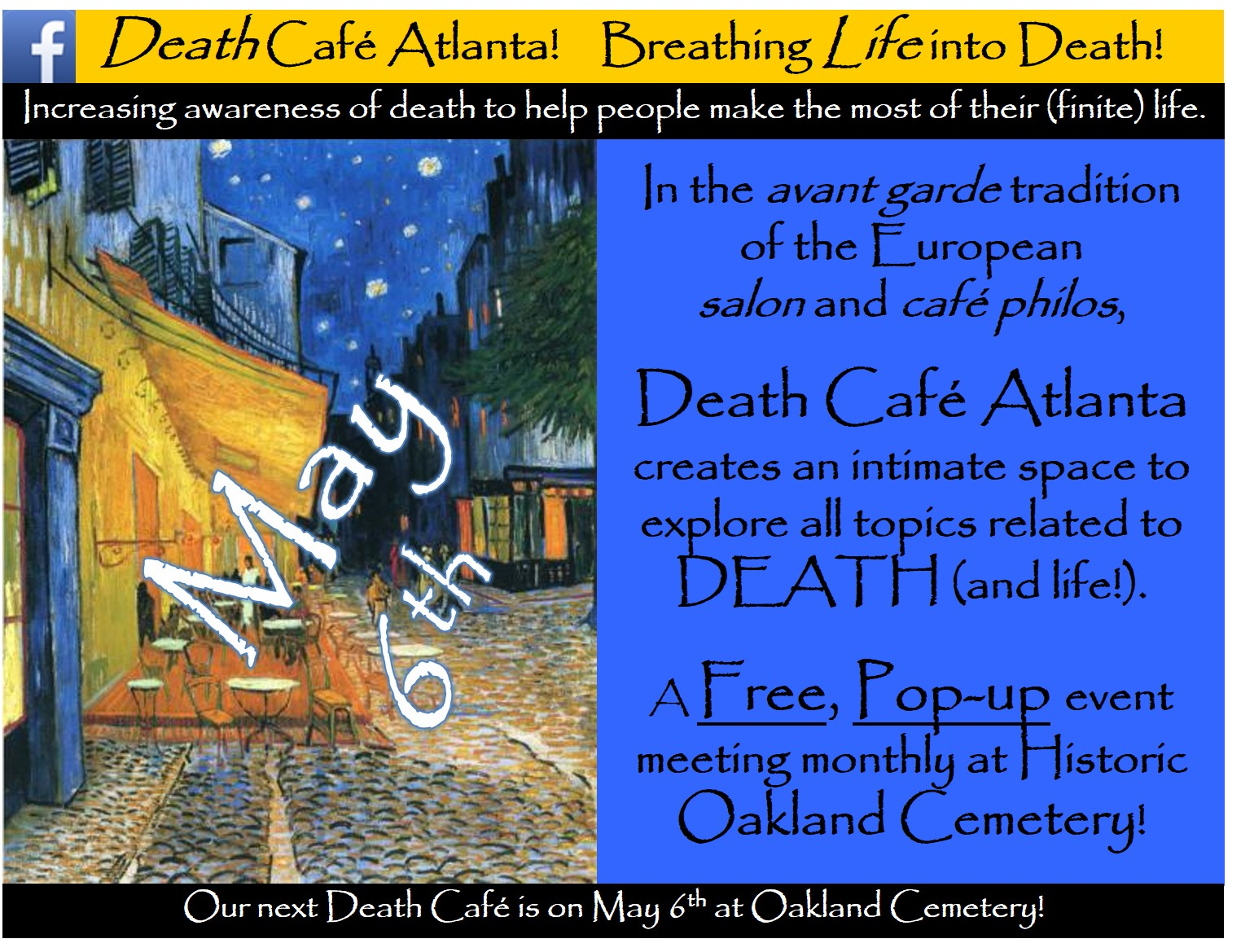 Death Cafe Atlanta #39