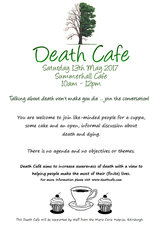 Death Cafe in Edinburgh
