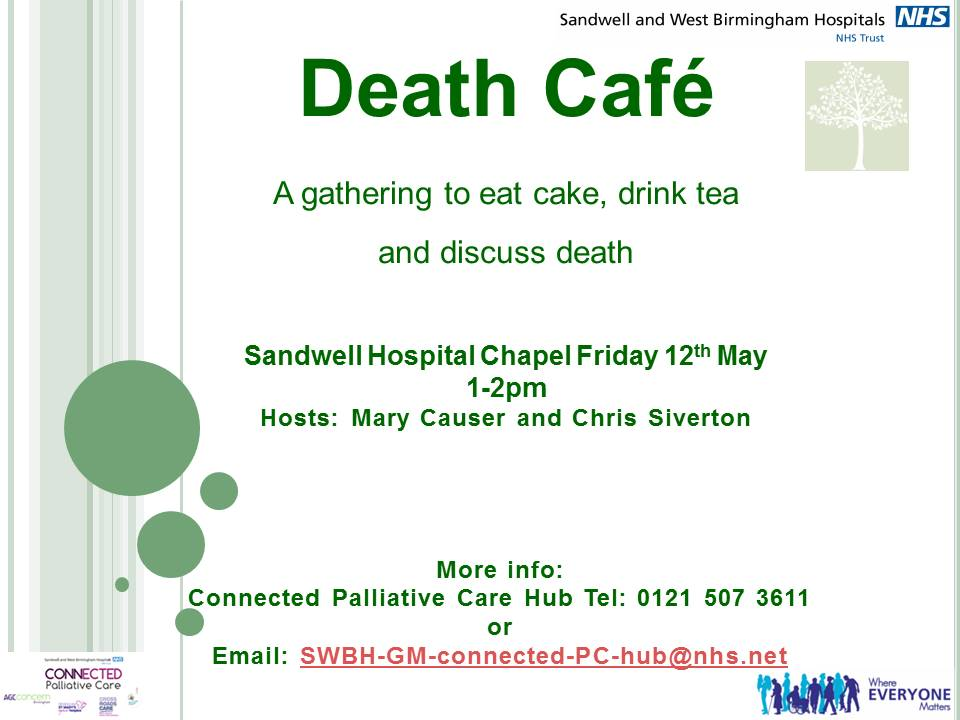 Death Cafe in Sandwell