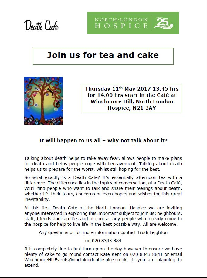 North London Death Cafe