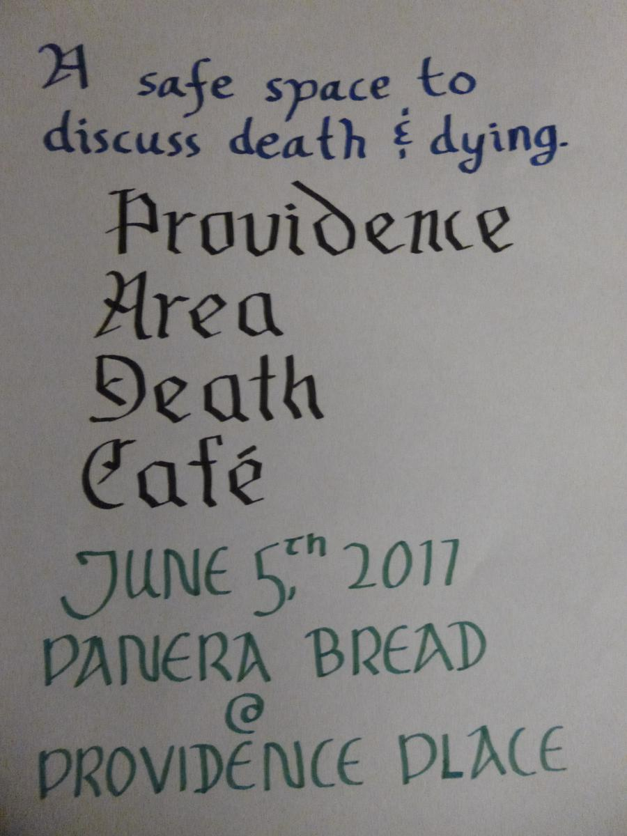 Providence Area Death Cafe
