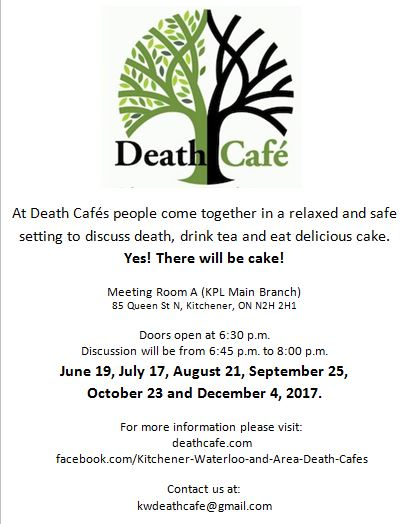 Death Cafe Kitchener