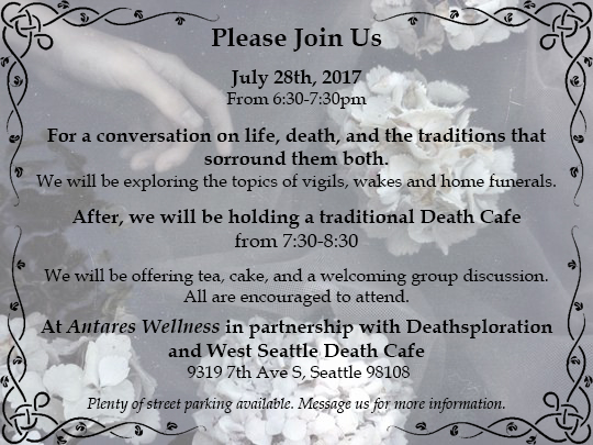 July 2017 Death Cafe South Seattle