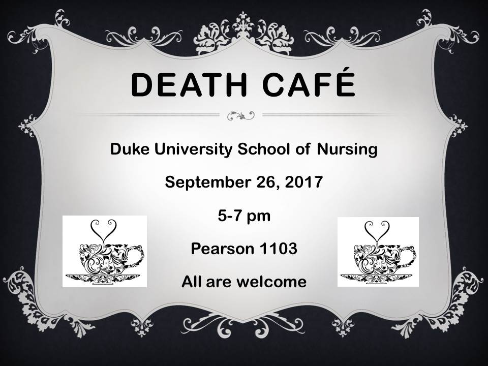 Death Cafe Durham NC