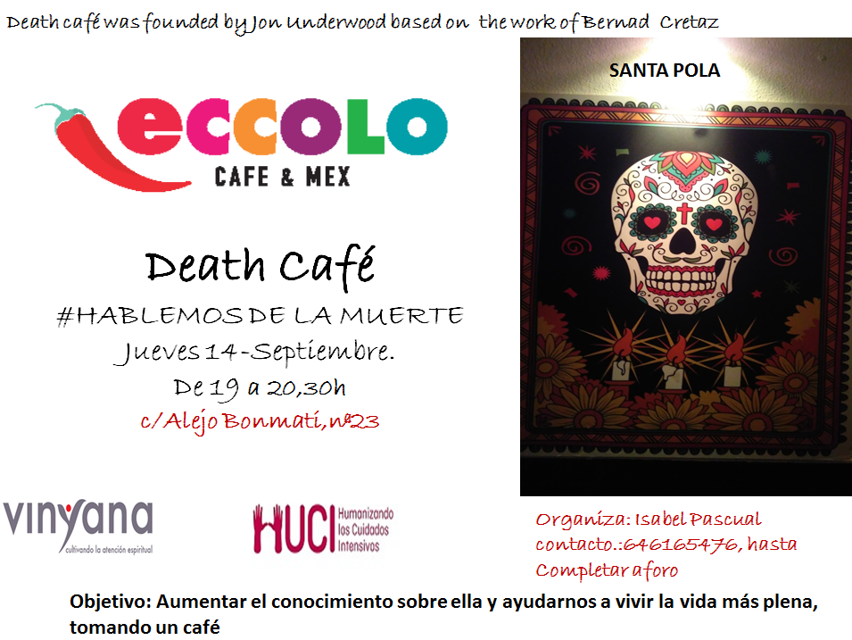 Death Cafe SANTA POLA (SPAIN)
