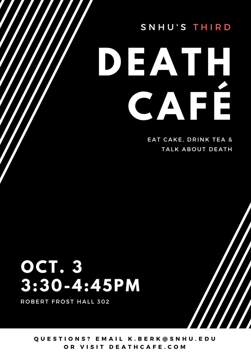 Death Cafe Southern New Hampshire University