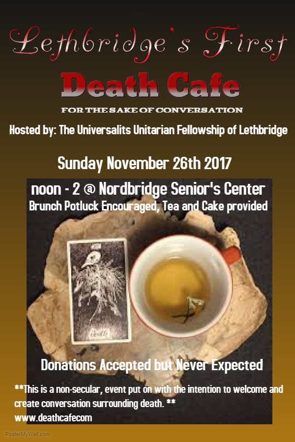 Lethbridge Death Cafe #1