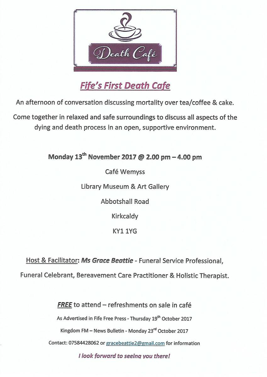 Fife's First Death Cafe