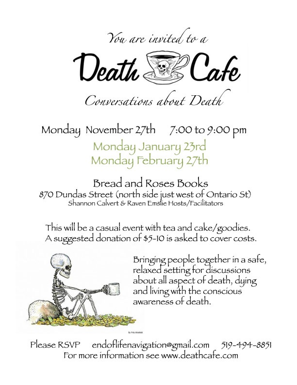 Death Cafe-London Ontario
