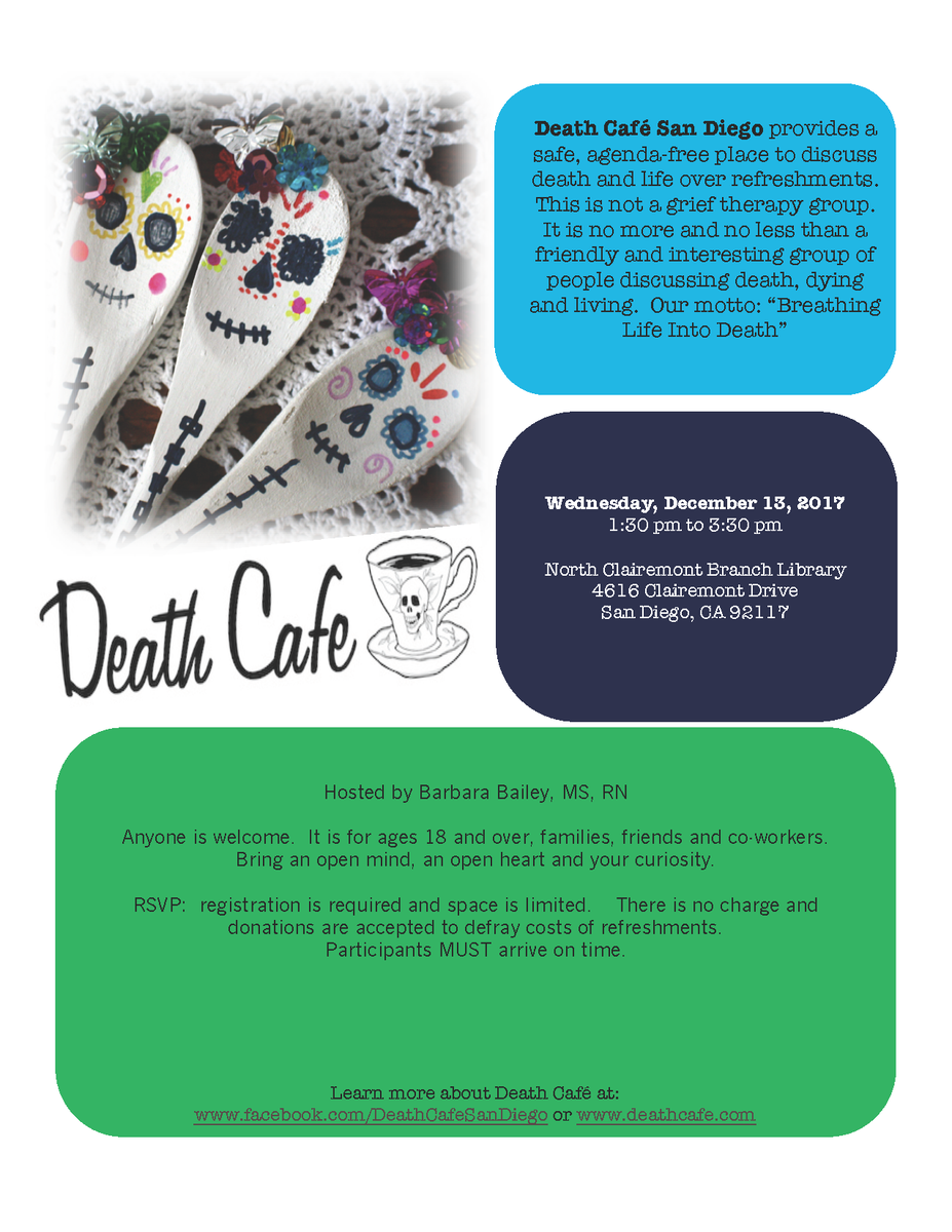 Death Cafe North Clairemont