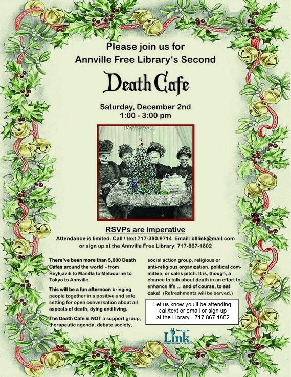 Annville Free Library's Second Death Cafe