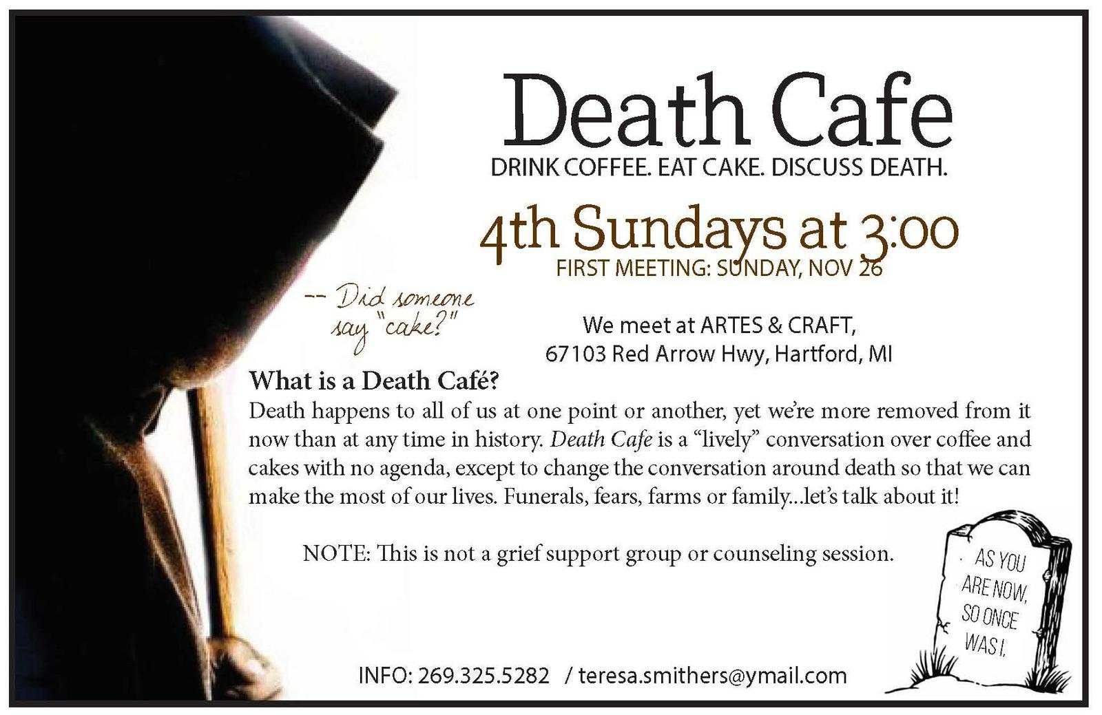 Death Cafe of North Berrien