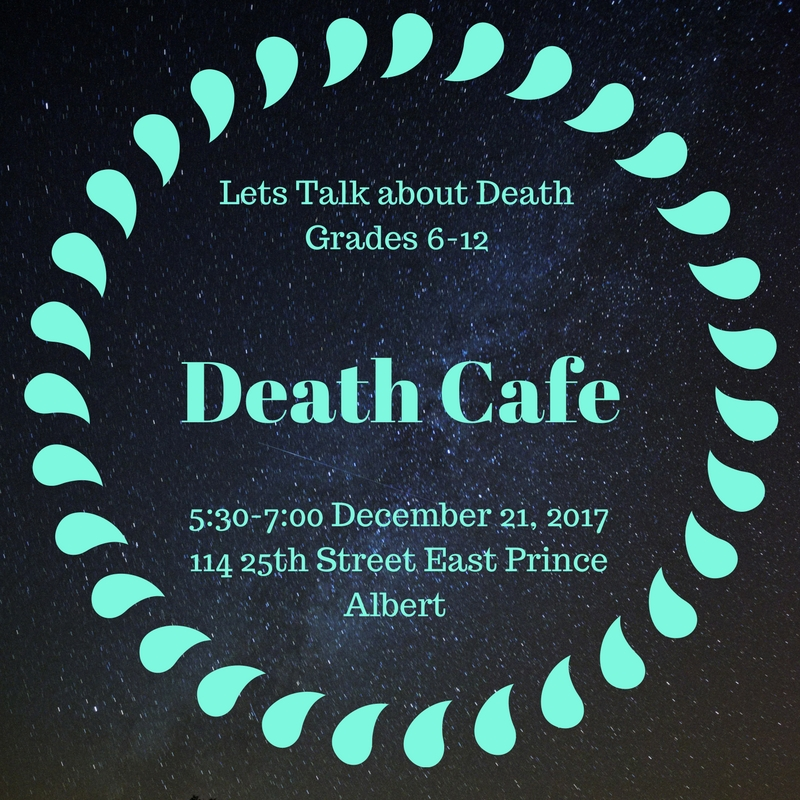 Prince Albert Death Cafe for young people
