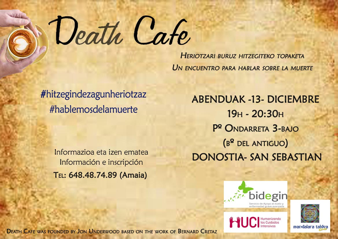 Death Cafe DONOSTI (SPAIN)