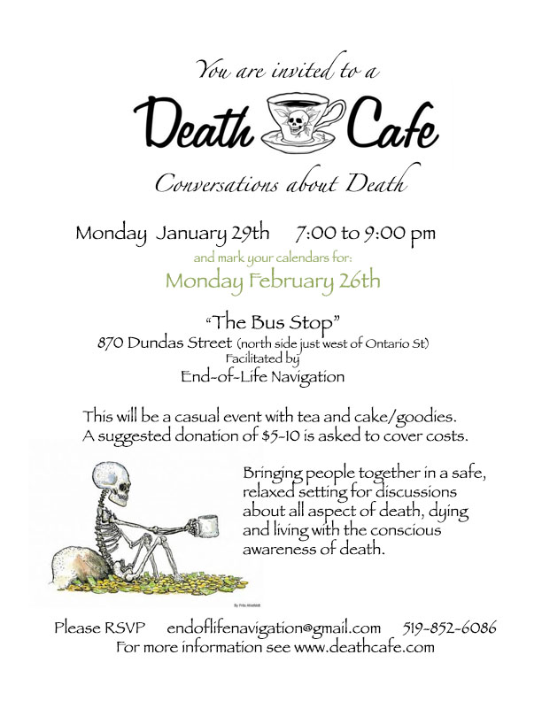 Death Cafe London Ontario