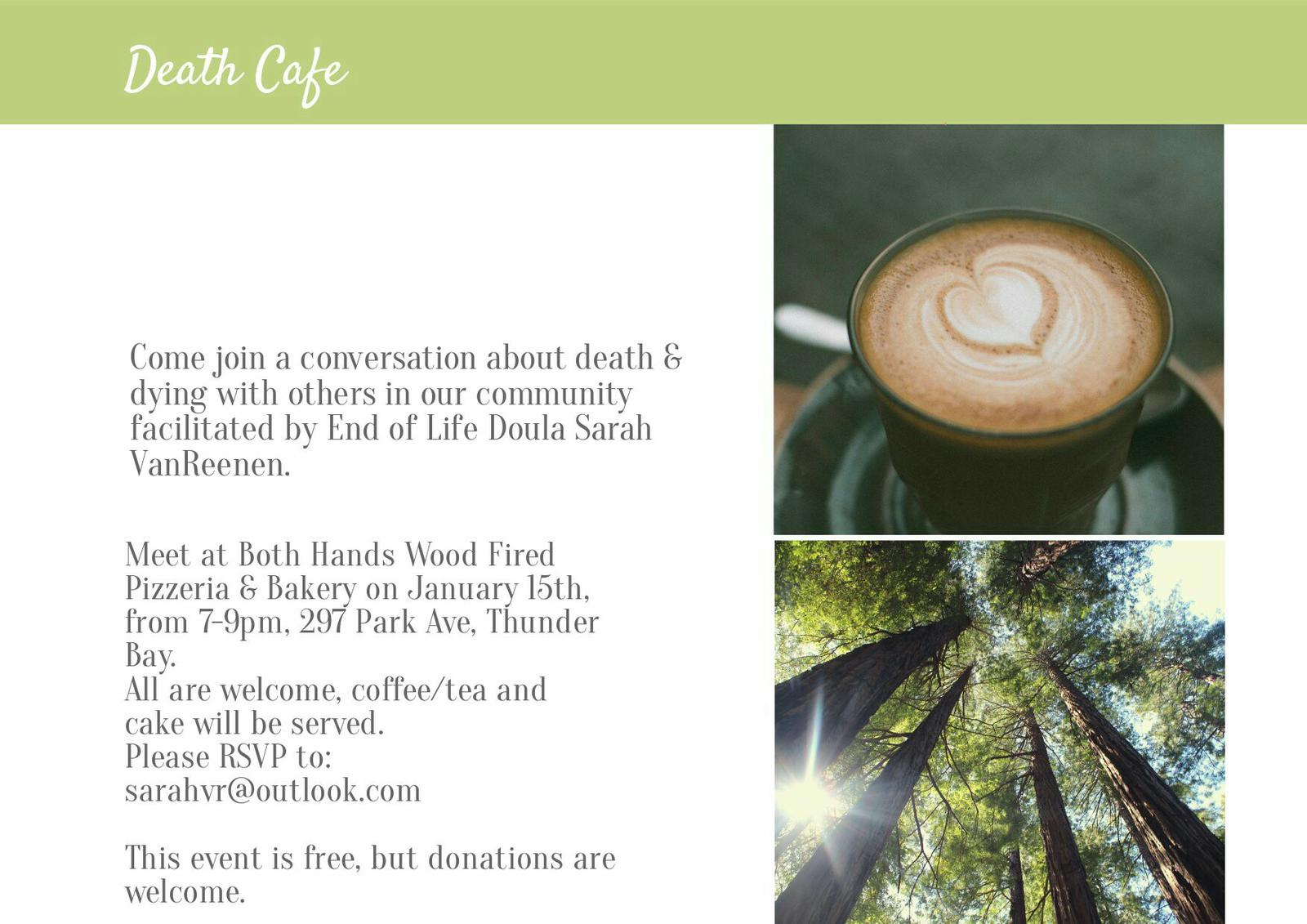 Death Cafe Thunder Bay