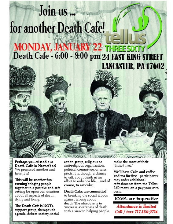 another Tellus 360 Death Cafe