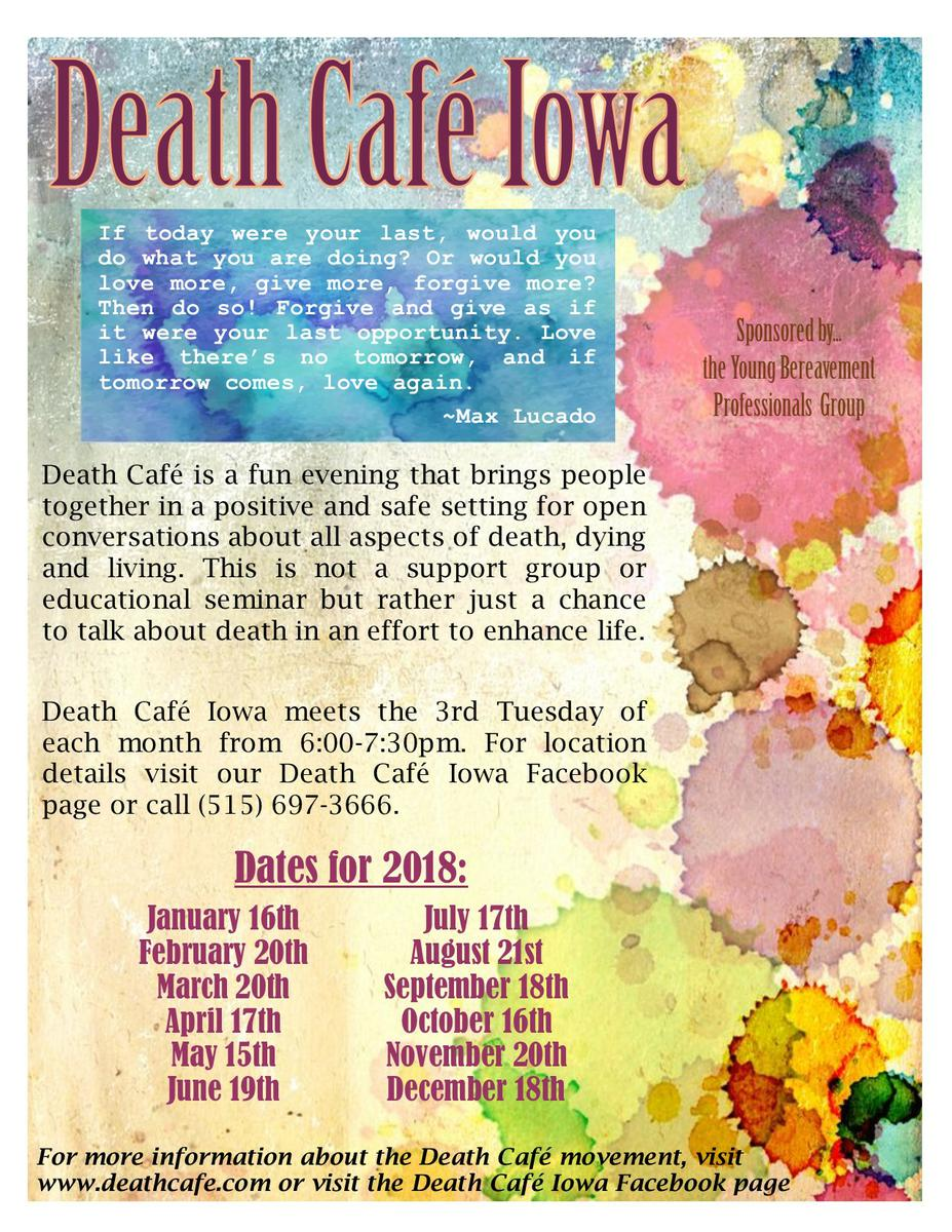 Death Cafe Iowa - March