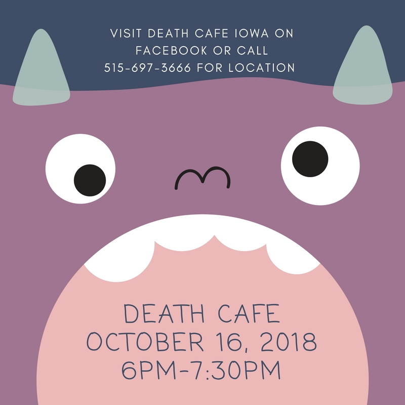 Death Cafe Iowa - October