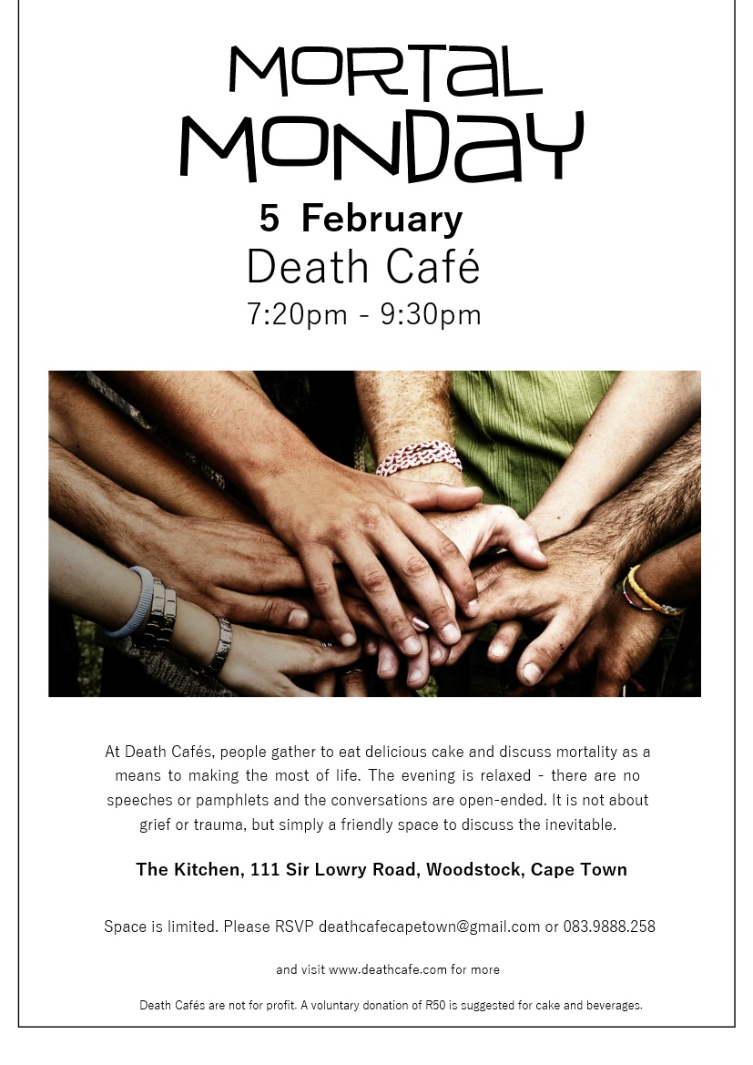 Mortal Monday Death Cafe Cape Town