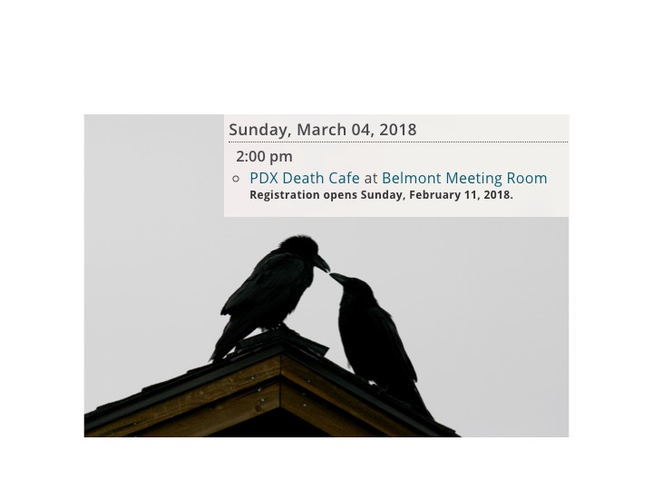 PDX Death Cafe at Belmont Library