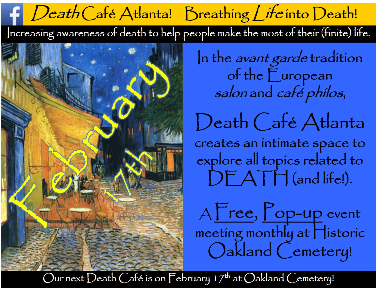 Death Cafe Atlanta #44