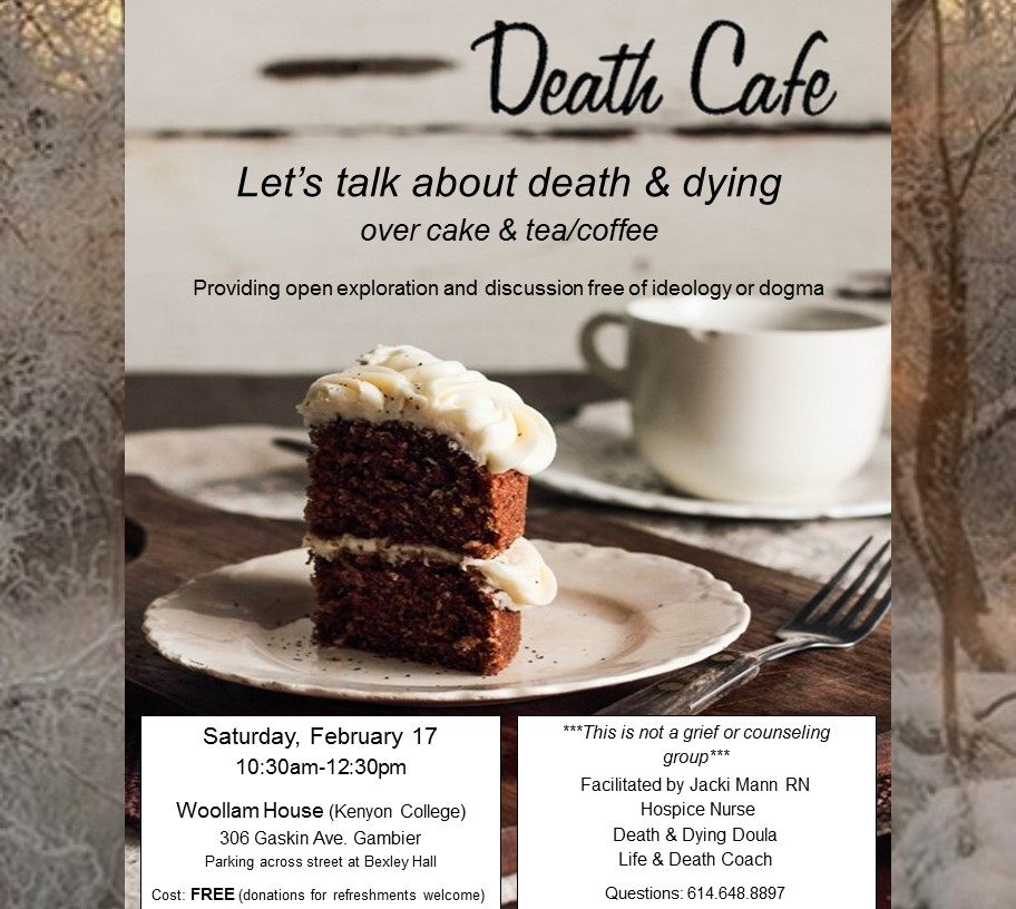 Death Cafe Gambier: Let's talk about death & dying